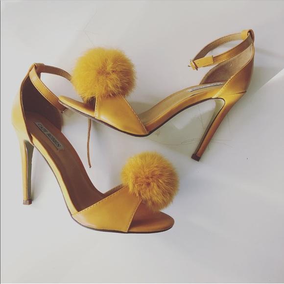Mustard Yellow Heels